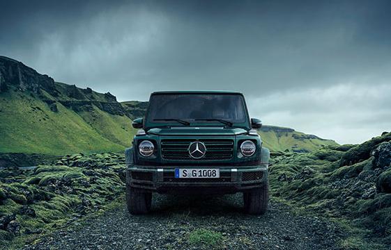 Die Mercedes-Benz G-Klasse.